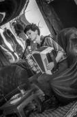 Cato met accordeon