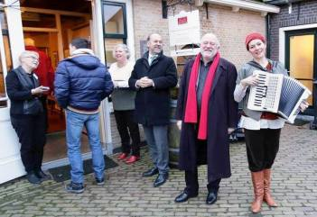 Cato Fluitsma Burgermeester Bert Blase