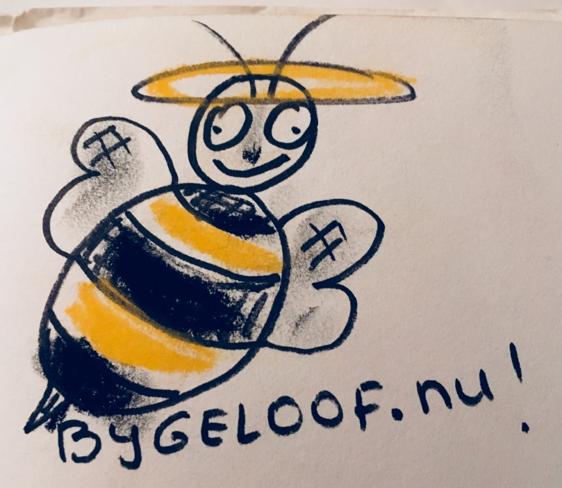 bijgeloof.nu drawing by Cato Fluitsma 2017